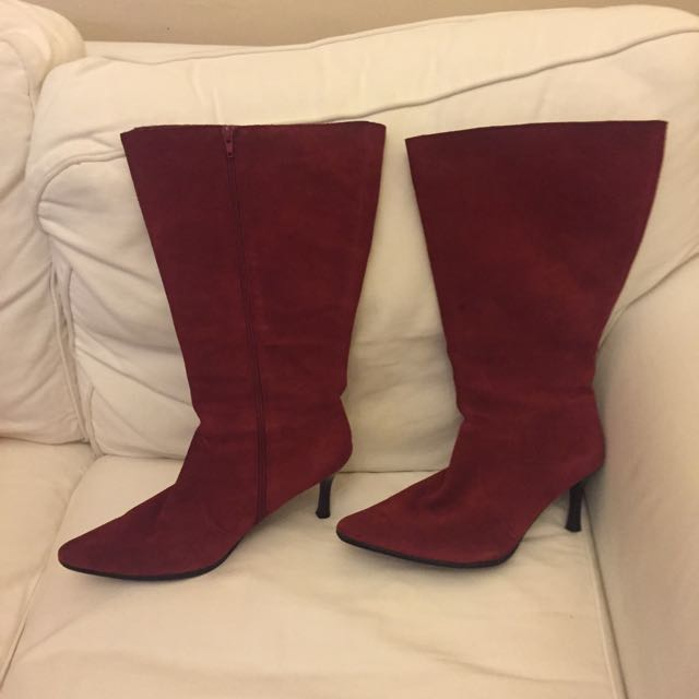 Size 42 Wide Calf Boots