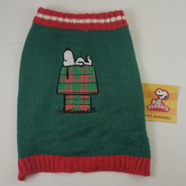 Snoopy Pet Sweater by Peanuts