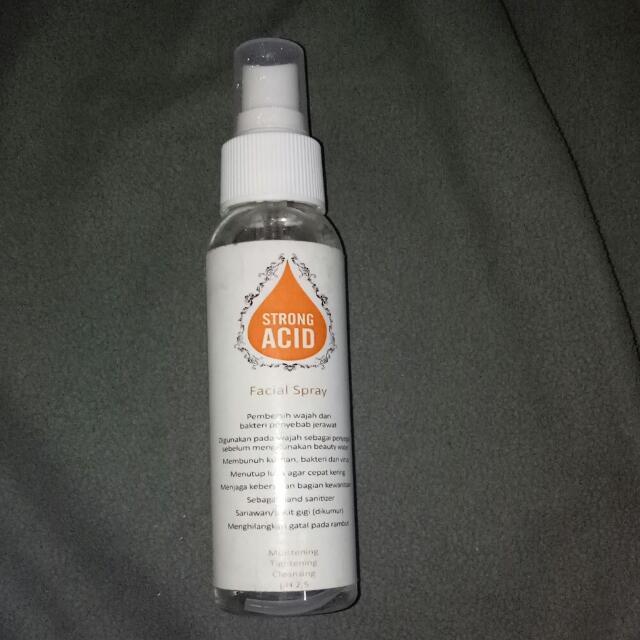 Strong Acid Spray