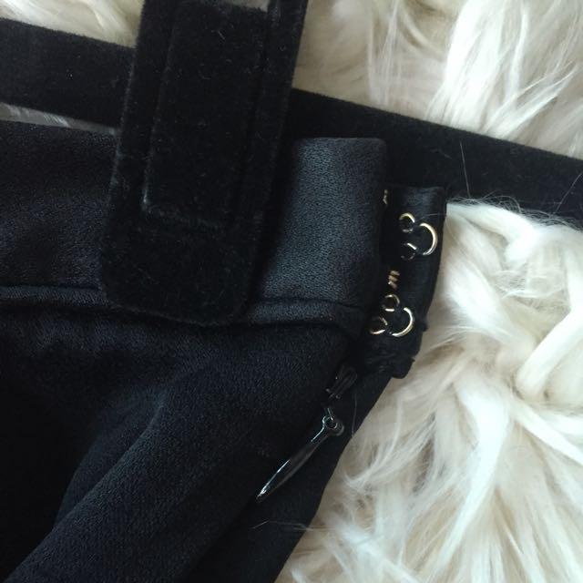 T Alexander Wang Black Crepe Shorts Size 1