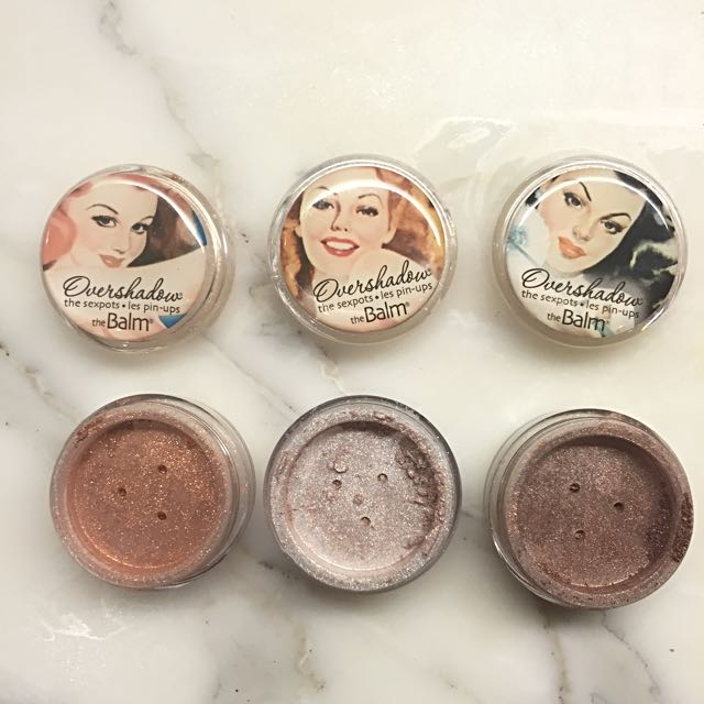 The Balm Loose Pigments
