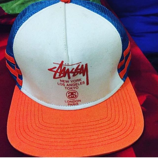 b9a77019c86fc8 Topi Stussy Original, Men's Fashion, Men's Accessories, Caps & Hats on  Carousell