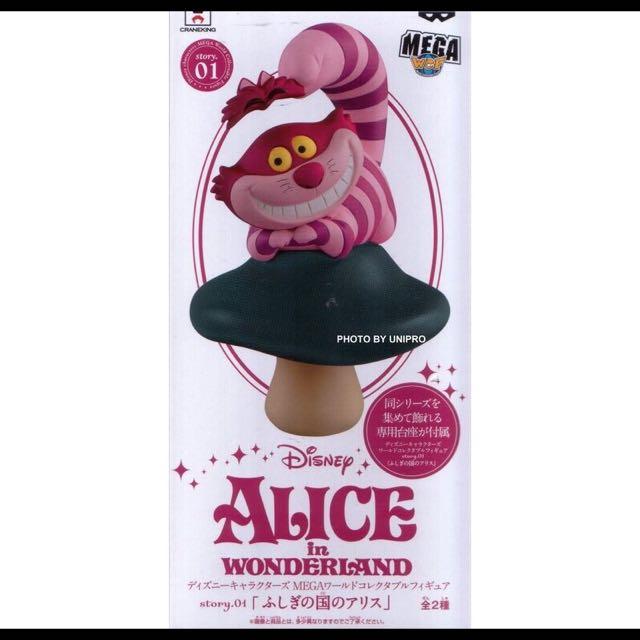 Wcf 迪士尼 妙妙貓 柴郡貓 Disney 愛麗絲 愛麗絲夢遊仙境