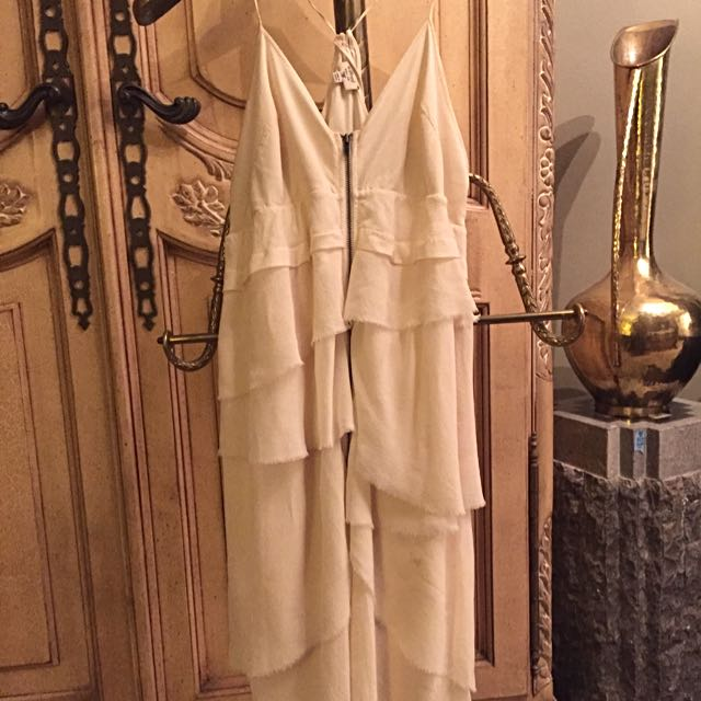 Wilfred (Aritzia) 100% Silk Cream Dress