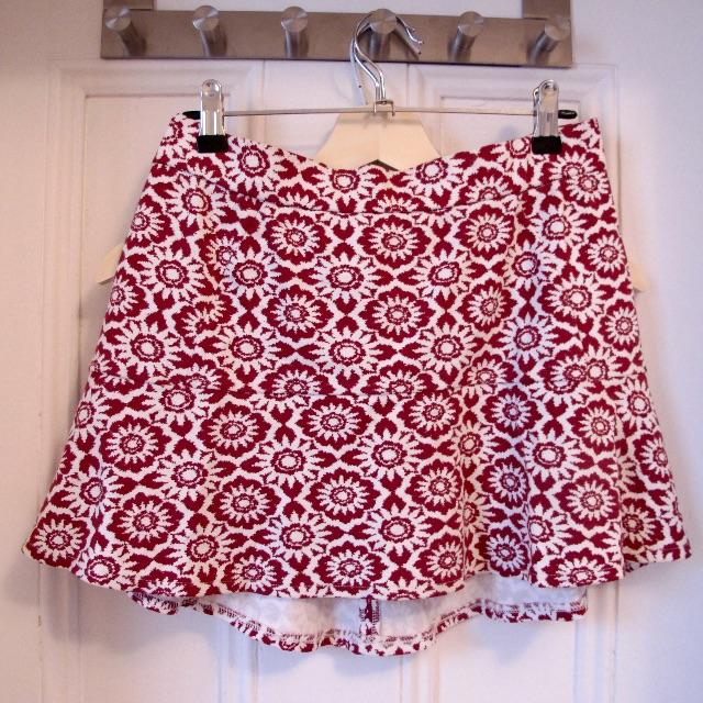 Zara Print Skirt Size S