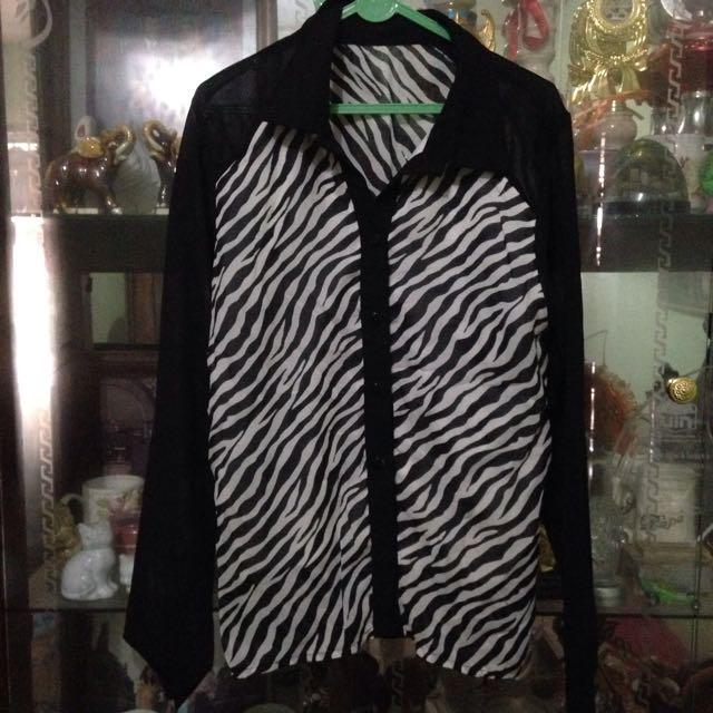 Zebra Long Sleeve