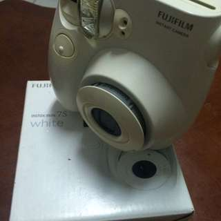 Instax mini 7s 白色拍立得