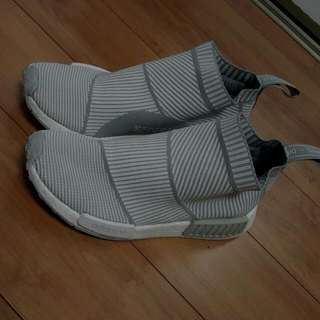 Adidas NMD City Sock - Grey/White