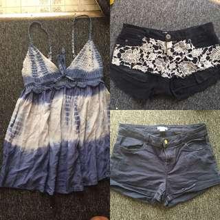 Bulk Lot Size 10-12 Woman's Clothes