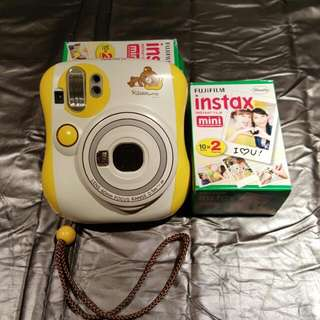 Instax Camera(Limited Edition!!)+40 sheets photos