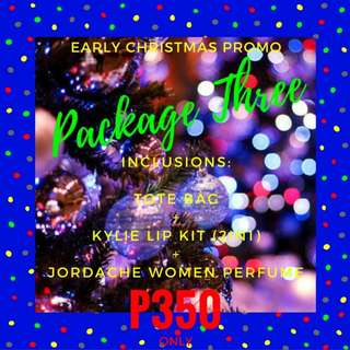 Early Christmas Promo - Package Three