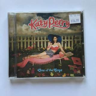 Katy Perry CD: One of the Boys
