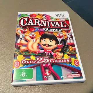 Wii Carnival Games