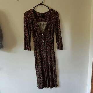 Mango MNG Printed Dress