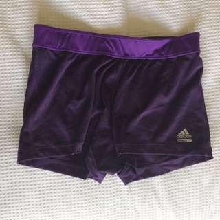 Addidas Purple Bike Shorts