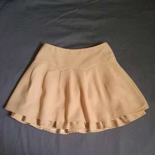 Double Layer Miniskirt