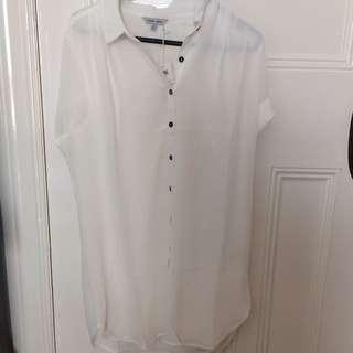 Naked Zebra T-shirt Dress