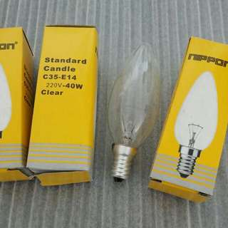 Light Bulbs X 3pcs