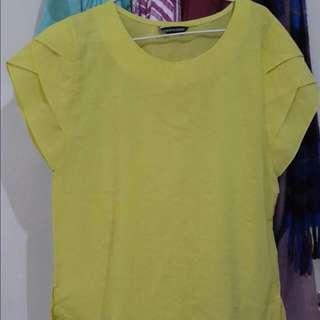 Yellow Green Shirt No Brand