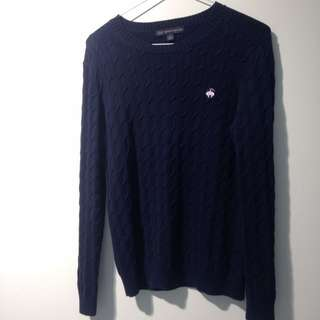 346 Brooks Brother Cable Knit Sweater