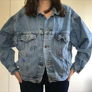 Vintage Oversize Denim Jacket