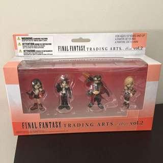Final Fantasy Trading Arts Mini Vol.2 2008 - Set Of 4