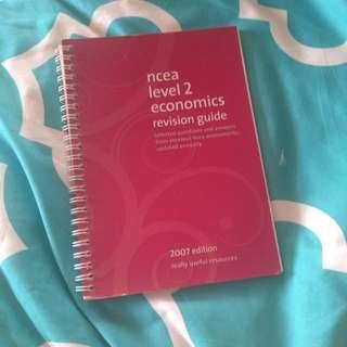 Ncea Level2 Economics 2007