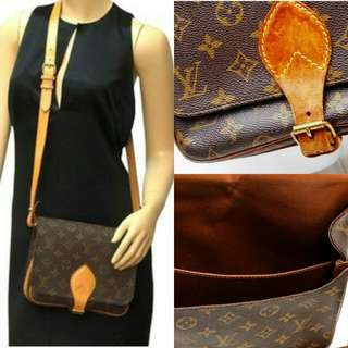 Louis Vuitton Cartouchiere Crossbody Bag