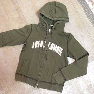 A&F 雙拉鍊連帽外套 #Abercrombie&Fitch