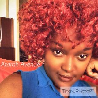 Curly Red Synthetic Wig