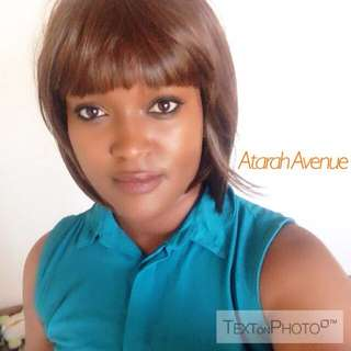 Short Brown With Bangs Synthetic Hair