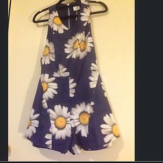 BNWT Sunflower playsuit Size 6-8