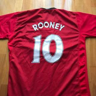 Wayne Rooney #10 Jersey Manchester United Soccer Top