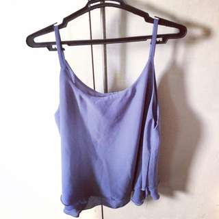 Periwinkle Sleeveless Top