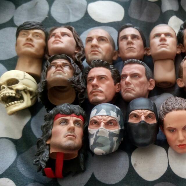 RESERVED ATM... 1/6 Headsculpt....3rd Party...sideshow..hot Toys....