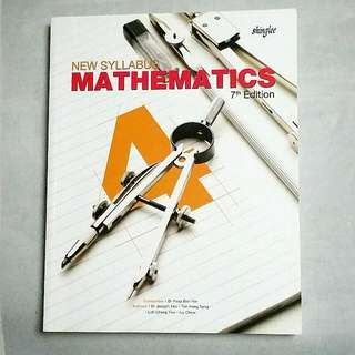 Sec4 | New Syllabus Math TB | 7th Ed