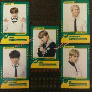 (WTT/WTB) BTS 3rd MUSTER PLAYER CARD