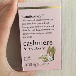Cashmere And Strawberry Soap