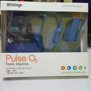 Withings Pulse O2 Blue Watch
