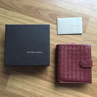 AUTHENTIC BOTTEGA VENETA INTERCIATO FRENCH WALLET | PRE-LOVED