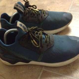 Adidas Blue Tubular Runners