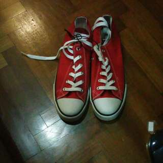 Unbranded Red Sneakers