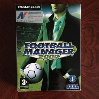 Football Manager 07 PC/MAC
