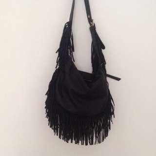 Steve Madden Faux Leather Fringe Bag