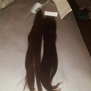 """24"""" Chocolate Brown Tape Extentions"""