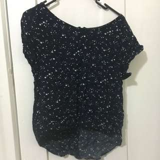 Shirt XS Star Pattern