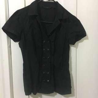 Cue Black Shirt S8