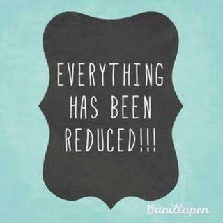 Reductions!!!