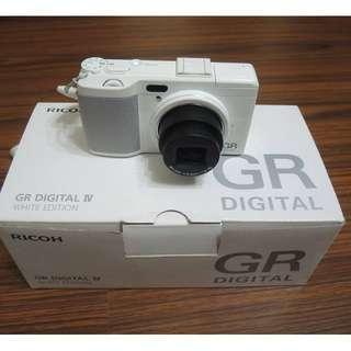 【出售】Ricoh GRD 4 GRD IV 白色限量版 盒裝完整 9成新