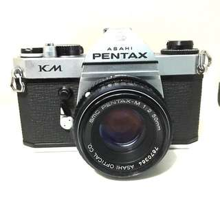 Pentax KM With 50mm F2 Lens